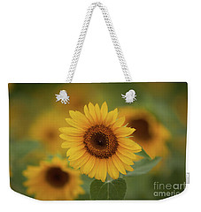 Patch Of Sunflowers Weekender Tote Bag