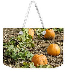 Weekender Tote Bag featuring the photograph Patchin' by Christi Kraft