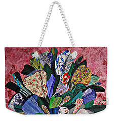 Patchwork Bouquet Weekender Tote Bag by Sarah Loft
