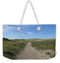Path In The Noordhollandse Duinreservaat Weekender Tote Bag
