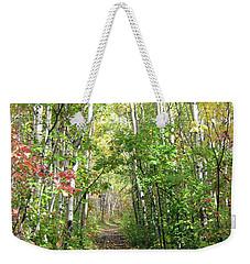 Path In The Woods 3 Weekender Tote Bag