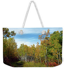 Path In The Woods 7 Weekender Tote Bag