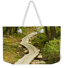 Path Into Unknown Weekender Tote Bag by Sebastian Musial