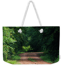 Weekender Tote Bag featuring the photograph Path Of Light Horizontal by Shelby Young
