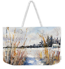 Path Shadows In The Way Back Weekender Tote Bag by Judith Levins