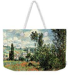 Path Through The Poppies Weekender Tote Bag