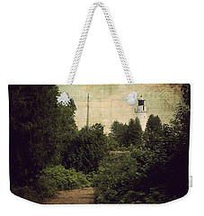 Weekender Tote Bag featuring the photograph Path To Cana Island Lighthouse by Joel Witmeyer