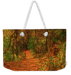 Path To Myklebust Lake Weekender Tote Bag by Trey Foerster