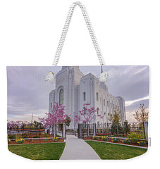 Weekender Tote Bag featuring the photograph Path To Salvation by Dustin LeFevre