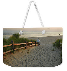 Path To The Sea Weekender Tote Bag