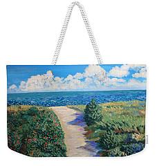 Path To The Sea Weekender Tote Bag