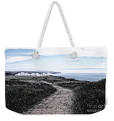 Path To White Cliffs Of Seaford Weekender Tote Bag