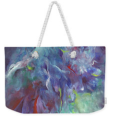 Pathway Of A Prayer Weekender Tote Bag by Karen Kennedy Chatham