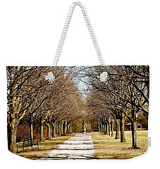 Pathway Through Trees Weekender Tote Bag
