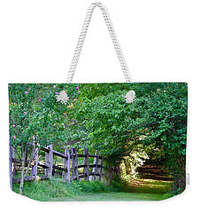 Pathway To A Sunny Summer Morning  Weekender Tote Bag