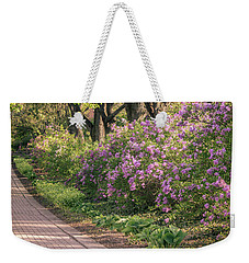 Pathway To Beauty In Lombard Weekender Tote Bag