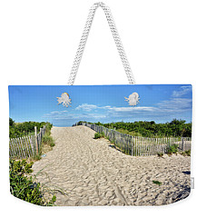 Pathway To The Beach - Delaware Weekender Tote Bag