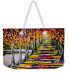 Pathyway To The Light Weekender Tote Bag