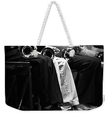 Weekender Tote Bag featuring the photograph Patiently Waiting... by Trish Mistric