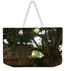 Patio 6 Weekender Tote Bag