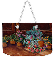 Patio Pots Weekender Tote Bag