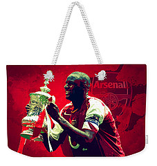 Patrick Vieira Weekender Tote Bag by Semih Yurdabak