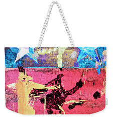 Weekender Tote Bag featuring the painting Patriot Act by Dominic Piperata