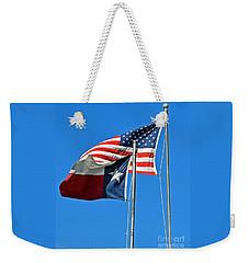 Patriot Proud Texan  Weekender Tote Bag