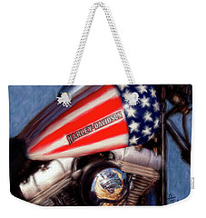 Live To Ride Weekender Tote Bag