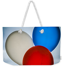 Patriotic Balloons Weekender Tote Bag by Carolyn Marshall