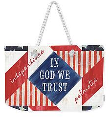 Patriotic Quilt 2 Weekender Tote Bag