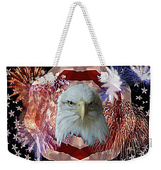 Patriotic Tribute Weekender Tote Bag