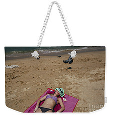 Weekender Tote Bag featuring the photograph Pattaya Beach by Setsiri Silapasuwanchai