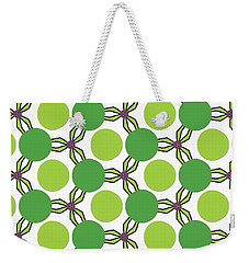 Pattern Green Weekender Tote Bag