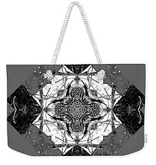 Pattern In Black White Weekender Tote Bag