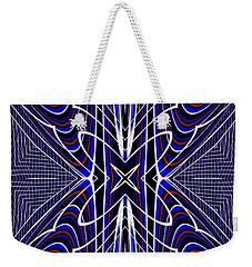 Pattern Play Weekender Tote Bag