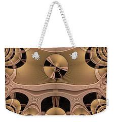 Weekender Tote Bag featuring the digital art Pattern by Ron Bissett