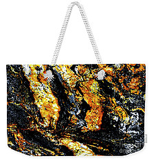 Weekender Tote Bag featuring the photograph Patterns In Stone - 185 by Paul W Faust - Impressions of Light