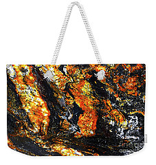 Weekender Tote Bag featuring the photograph Patterns In Stone - 186 by Paul W Faust - Impressions of Light