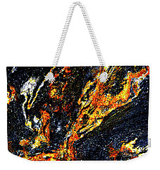 Weekender Tote Bag featuring the photograph Patterns In Stone - 187 by Paul W Faust - Impressions of Light