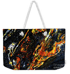 Weekender Tote Bag featuring the photograph Patterns In Stone - 188 by Paul W Faust - Impressions of Light