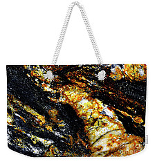 Weekender Tote Bag featuring the photograph Patterns In Stone - 190 by Paul W Faust - Impressions of Light