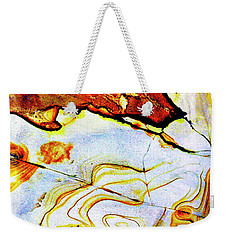 Weekender Tote Bag featuring the photograph Patterns In Stone - 201 by Paul W Faust - Impressions of Light