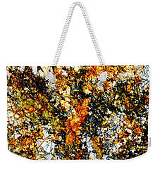 Weekender Tote Bag featuring the photograph Patterns In Stone - 207 by Paul W Faust - Impressions of Light
