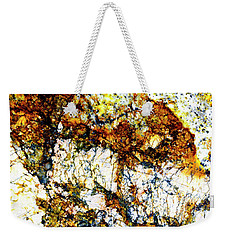 Weekender Tote Bag featuring the photograph Patterns In Stone - 210 by Paul W Faust - Impressions of Light