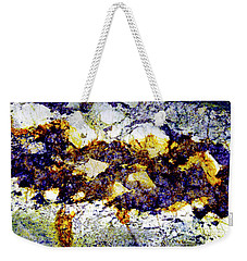 Patterns In Stone - 212 Weekender Tote Bag by Paul W Faust - Impressions of Light