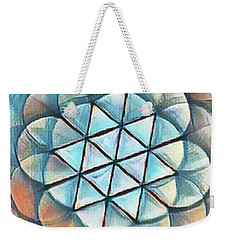Patterns Of Life Weekender Tote Bag