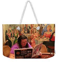 Pattie Poker Weekender Tote Bag