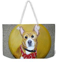 Patti's Grand-dog Weekender Tote Bag