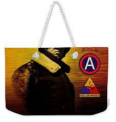 Patton Tribute Weekender Tote Bag